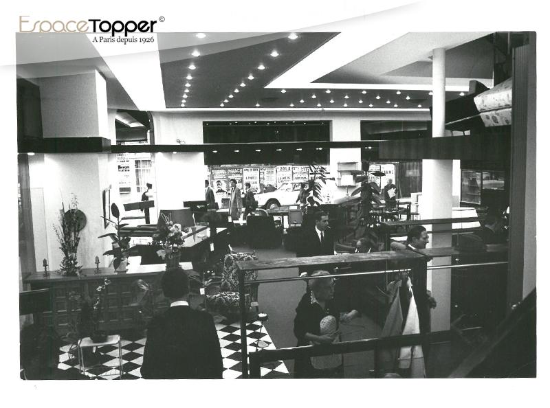 Les magasins Topper
