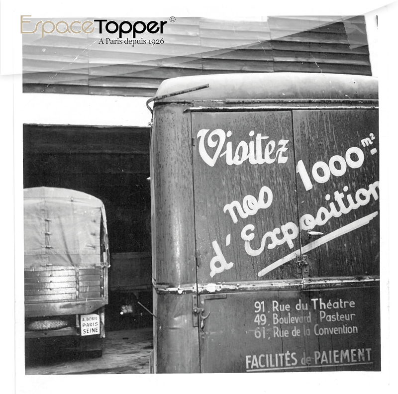 Zoom camion topper canapés