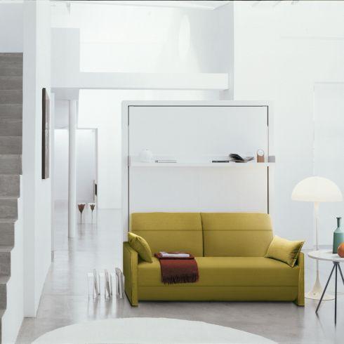 Lit relevable avec canapé relax ITO 016