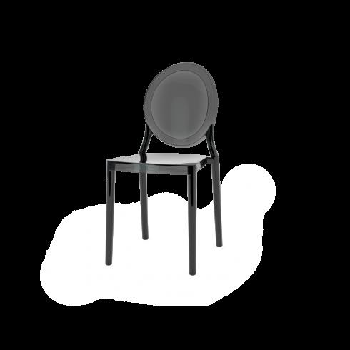 Lot de 2 chaises polycarbonate LAFAYETTE