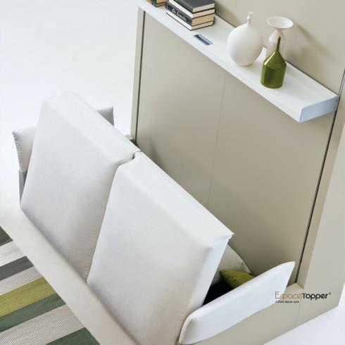 Armoire-lit escamotable avec canapé NUOVOLIOLA 10