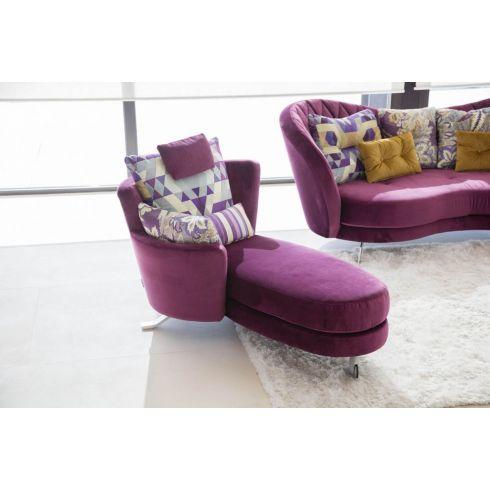 Fauteuil, chaise longue PAULINE